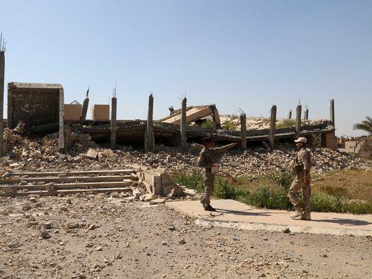 قبر صدام حسین تخریب شد