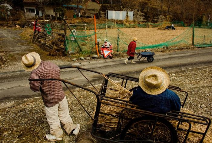 (تصاویر) روستای مترسکها