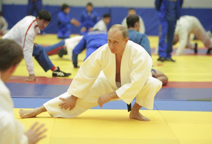 (تصاویر) رهبران جهان در حال ورزش