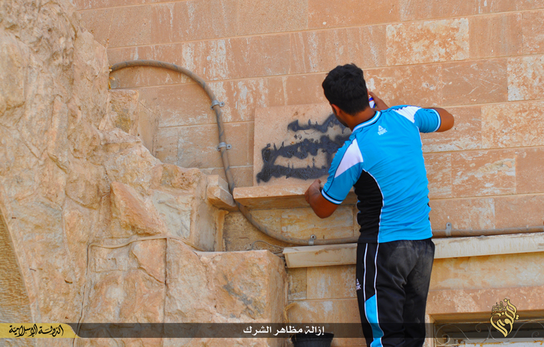 (تصاویر) حمله داعش به کلیسای نینوا