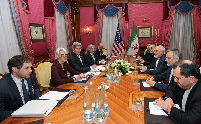 (تصاویر) از سرگیری مذاکرات ظریف و کری