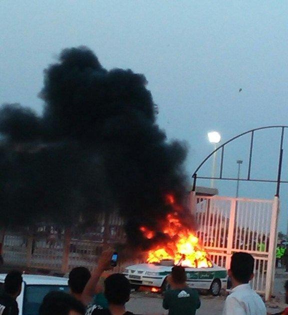توضیحات ناجا درباره درگیری پس از بازی فولاد - الهلال در اهواز