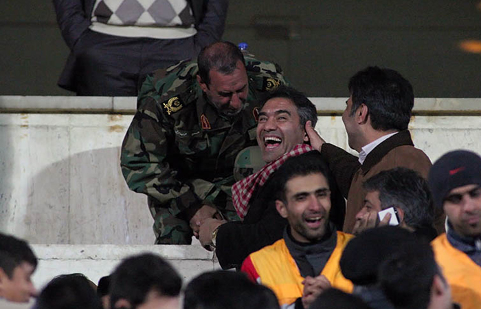 (تصاویر) حواشی برد پرسپولیس مقابل لخویا