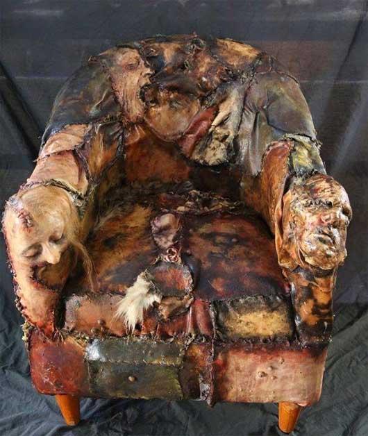 (تصاویر) ترسناک ترین صندلی دنیا