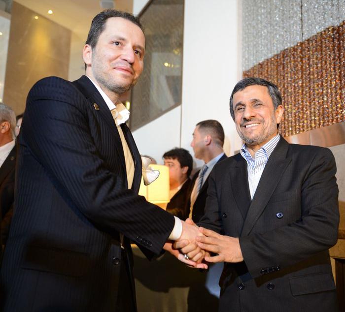 (تصاویر) سفر احمدینژاد به ترکیه