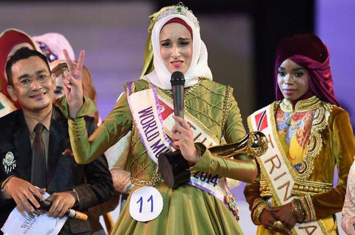 (تصاویر) مسابقه دختر شایسته جهان اسلام