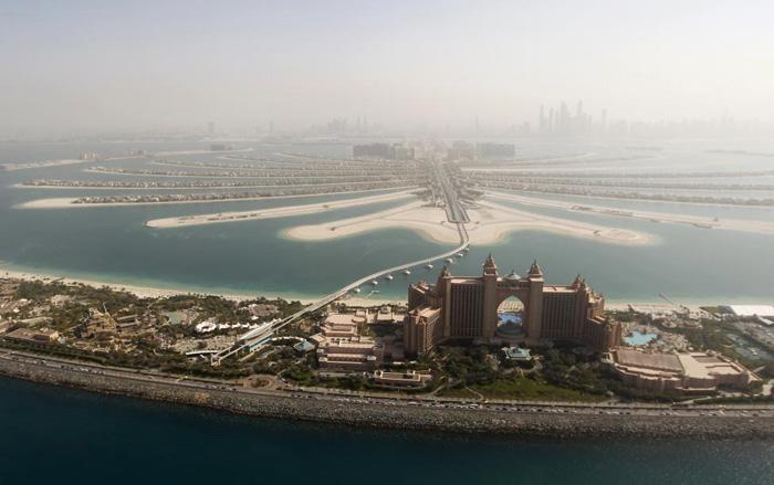 (تصاویر) دوبی از فراز آسمان