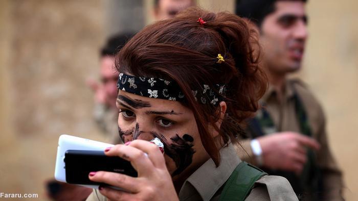 آموزش نظامی به زنان کرد,دختران کورد زنان کردستانی