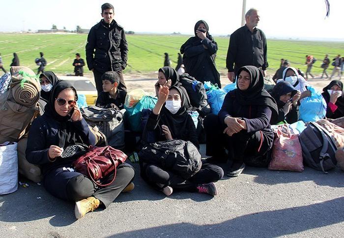 Afbeeldingsresultaat voor عکسی از زائران ایرانی در عراق