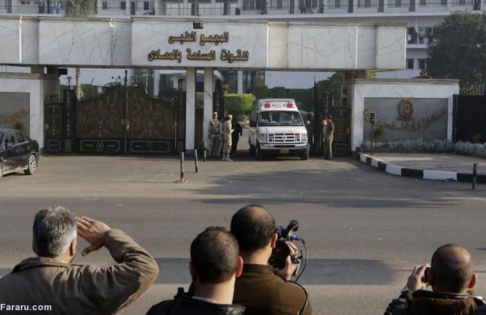 (تصاویر) آخرین جلسه دادگاه حسنی مبارک