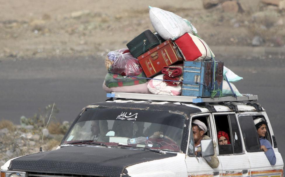 (تصاویر) فرار از یمن