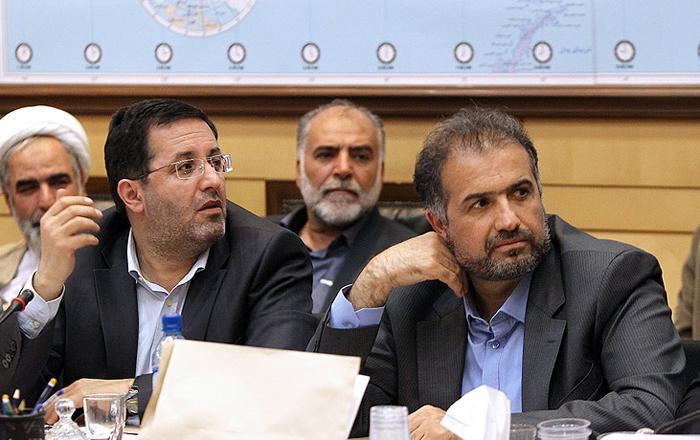 (تصاویر) ظریف در کمیسیون امنیت مجلس