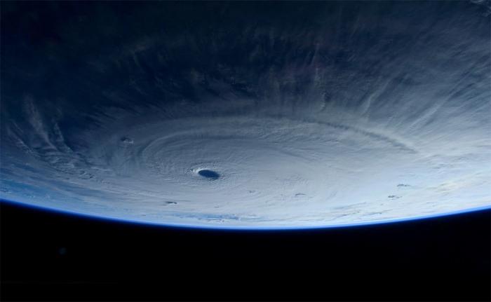 (تصاویر) توفان فیلیپین از فراز زمین