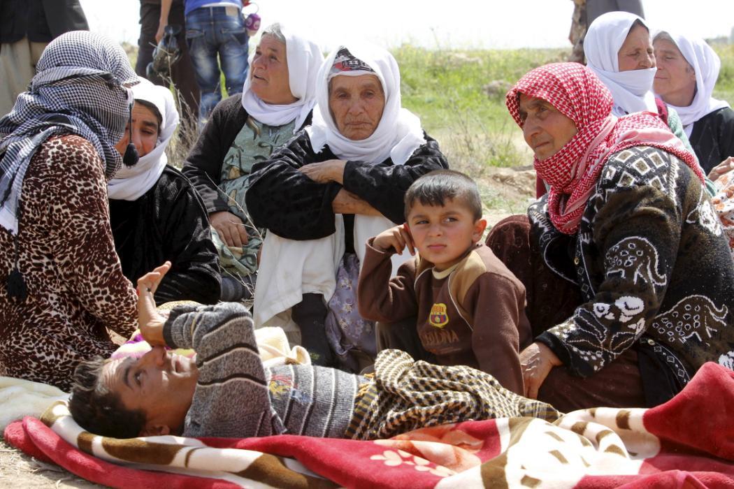 (تصاویر) داعش 200 ایزدی را آزاد کرد