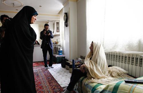 (تصاویر) مسنترین مادر تهران