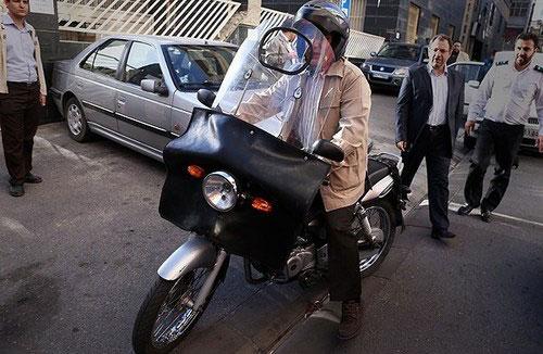 (تصاویر) موتور سواری حاتمیکیا