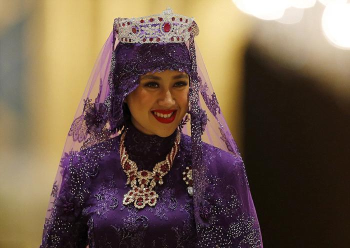 (تصاویر) عروسی مجلل شاهزاده برونئی
