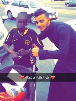 عربستان به دنبال دختری که در زبالهها جستوجو میکرد