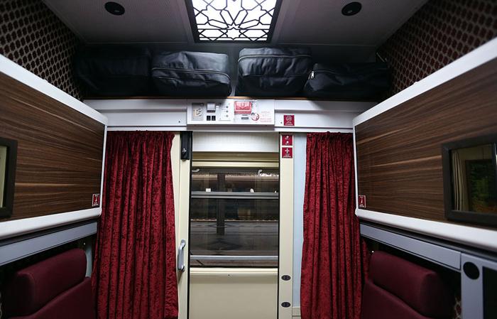 (تصاویر) قطار 5ستارۀ تهران-مشهد
