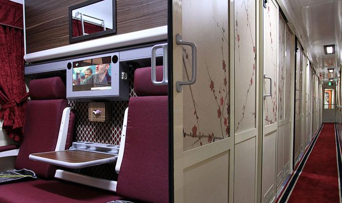 قطار سروش (تصاویر) قطار 5ستارۀ تهران-مشهد