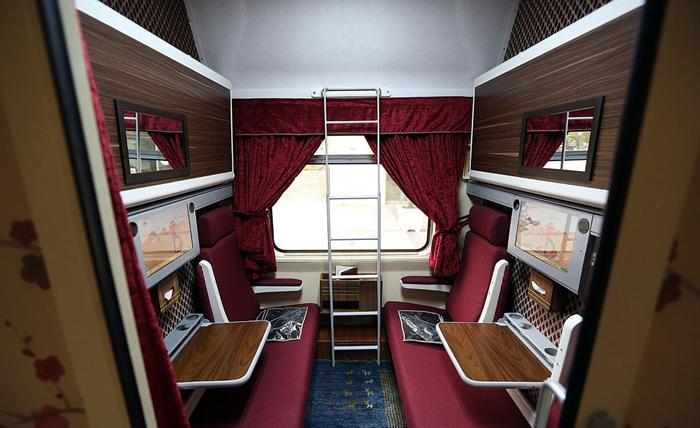 قطار سروش فرارو | (تصاویر) قطار 5ستارۀ تهران-مشهد