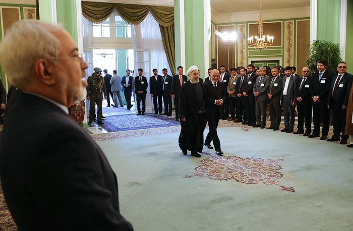 (تصاویر) استقبال از اشرف غنی در تهران
