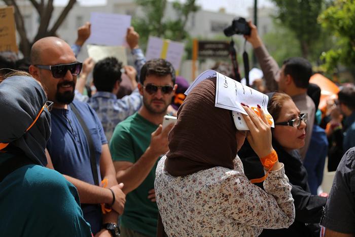 تجمع در اعتراض به سگکشی در شیراز