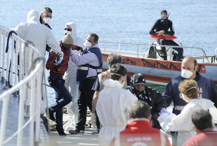 (تصاویر) «بدترین فاجعه» در مدیترانه