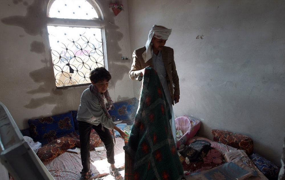 (تصاویر) حمله هوایی عربستان به یمن