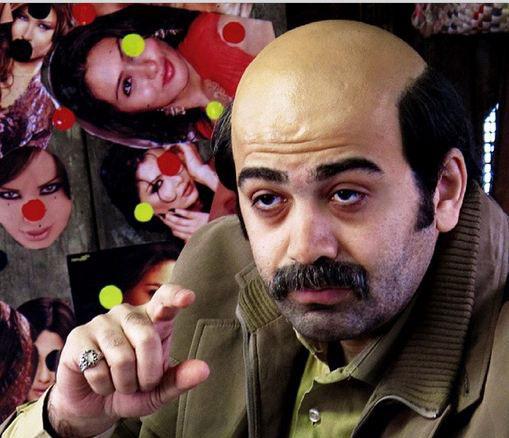 فرزاد حسنی با گریم عجیب در فیلم توقیف شده