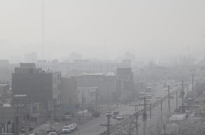 (تصاویر) آلودگی هوا در اراک