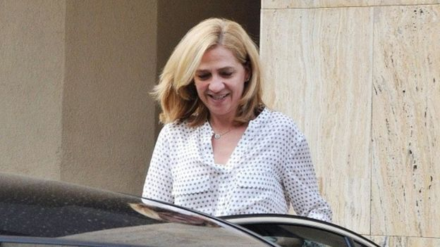 محاکمه خواهر پادشاه اسپانیا به اتهام فساد