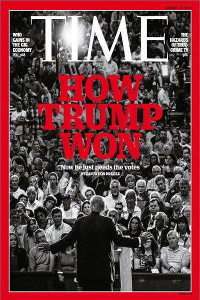 شماره جدید تایم درباره ترامپ و عرابستان