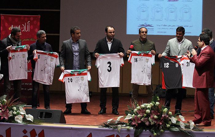 (تصاویر) مزایده خیریه پیراهن هادی نوروزی