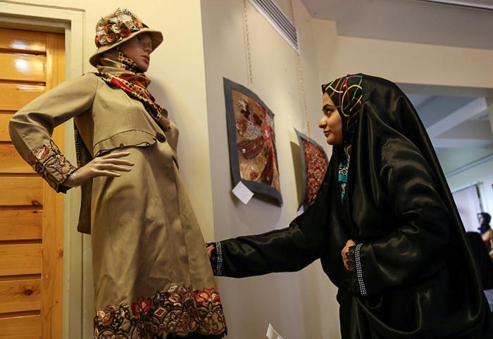 برگزاری نمایشگاه مد و لباس ایرانی اسلامی در شیروان