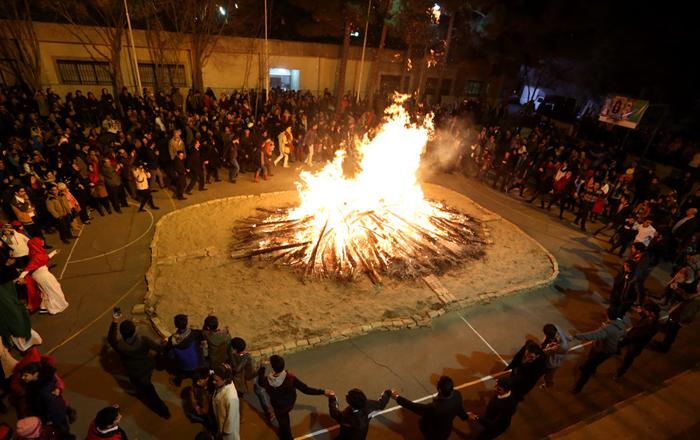 (تصاویر) جشن سده در تهران