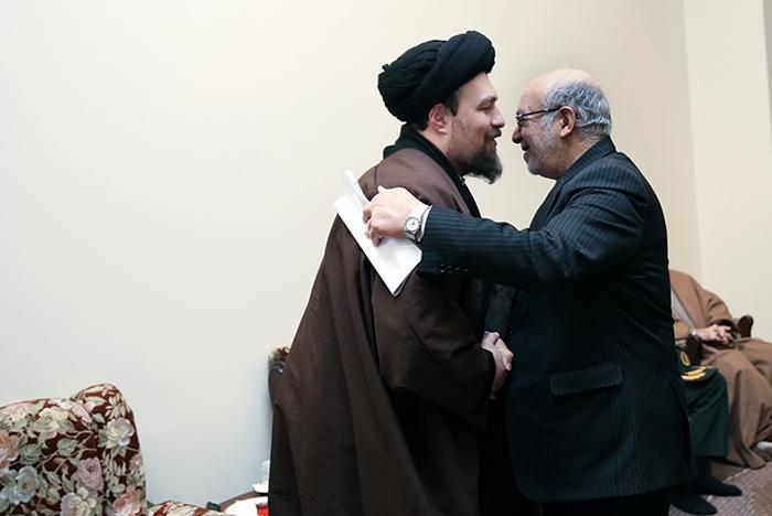 الله واعظ طبسی کجاست (تصاویر) دیدار هیات دولت با سیدحسن خمینی(ره)