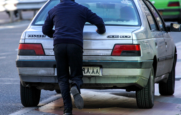عکس تهران طرح ترافیک رایگان خلاقیت ایرانی اخبار تهران