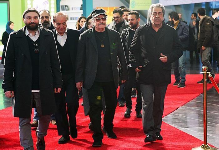 (تصاویر) میهمانان روز نخست جشنواره فجر