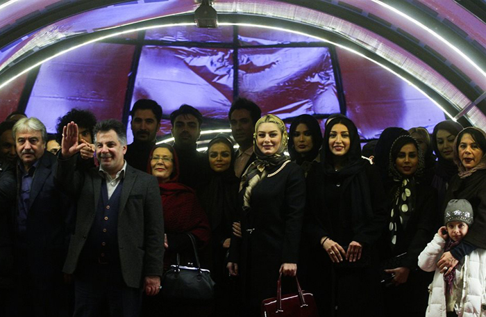 (تصاویر) میهمانان روز ششم جشنواره فیلم فجر