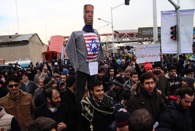 عکس راهپیمایی عکس تهران