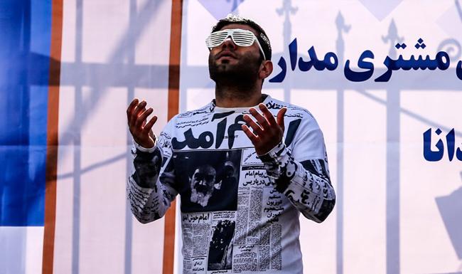 (تصاویر) راهپیمایی 22 بهمن در تهران