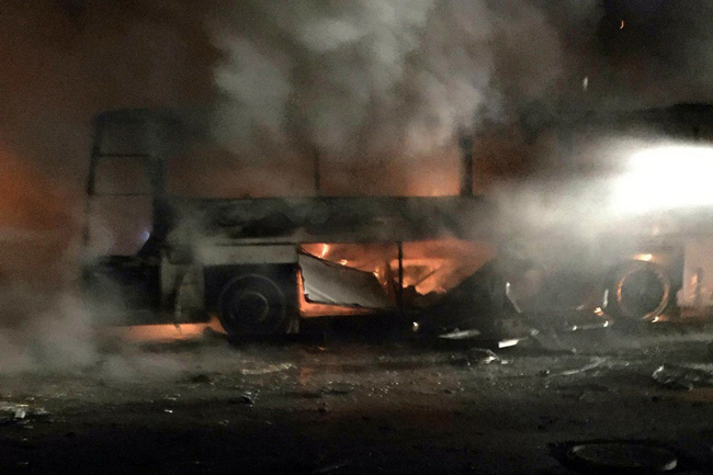 (تصاویر) انفجار مهیب در انکارا