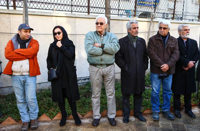 مراسم تشییع بازیگران عکس جدید بازیگران تشییع جنازه بازیگران بیوگرافی یدالله نجفی