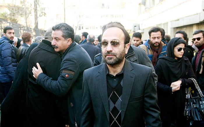 (تصاویر) چهرههای سینمایی در تشییع یدالله نجفی