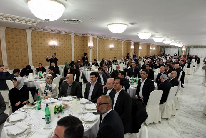 (تصاویر) دیدار روحانی با ایرانیان مقیم ایتالیا