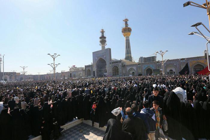 (تصاویر) مراسم تشییع آیت الله واعظ طبسی
