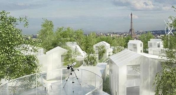 (تصاویر) روستایی که قرار است در پاریس متولد شود!