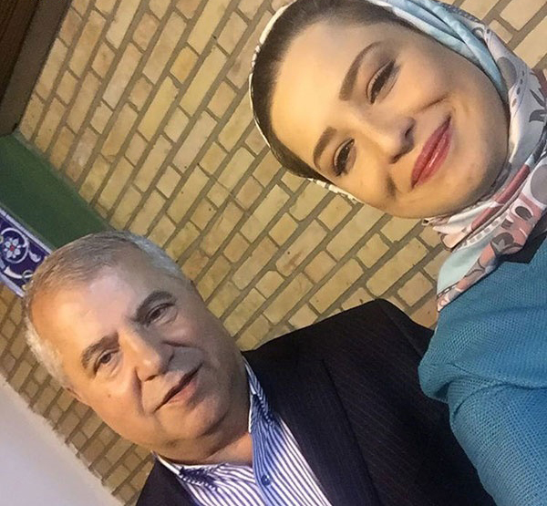 (تصویر) علی پروین و مهراوه شریفینیا