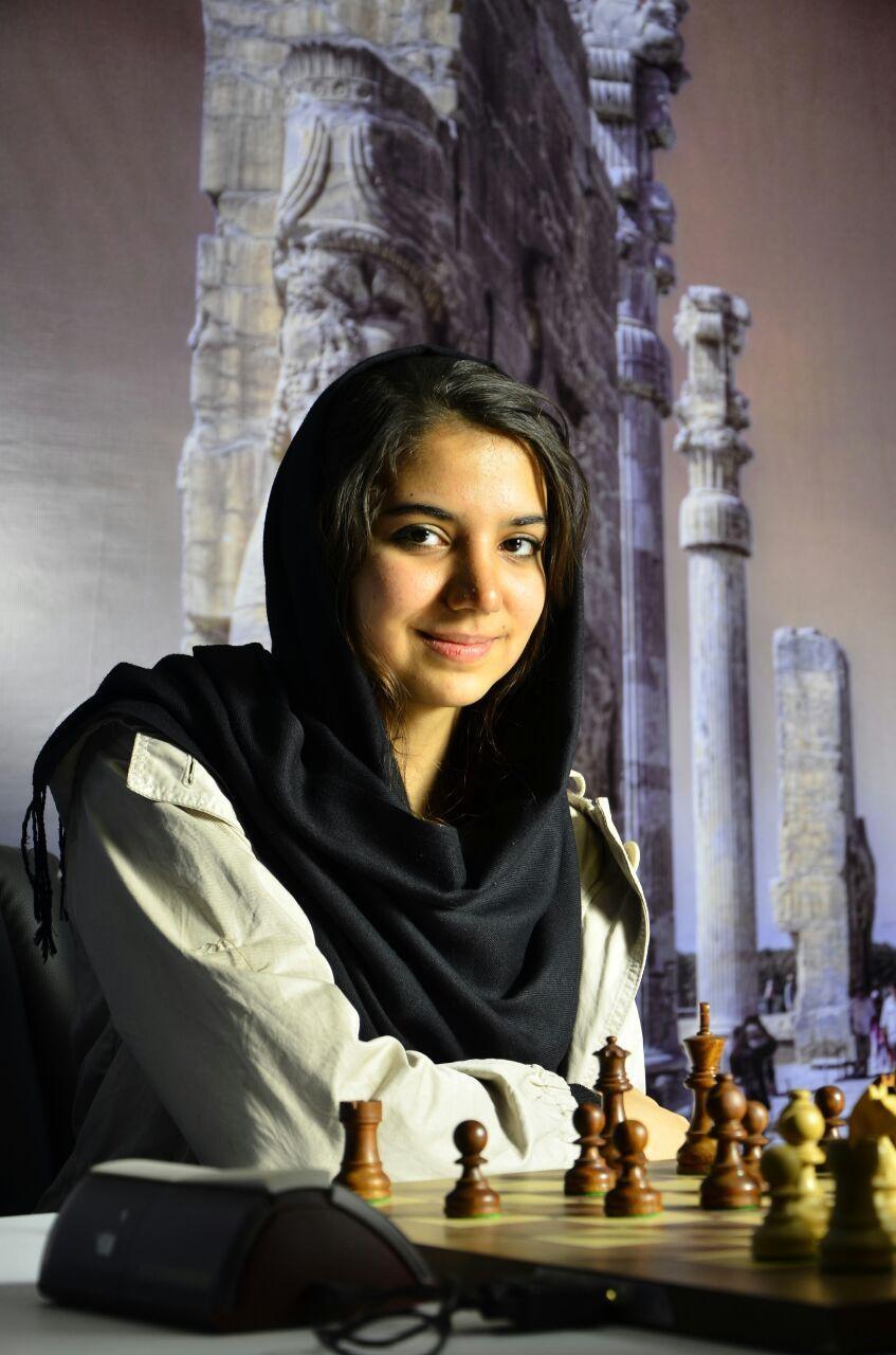 ورزش زنان نابغه شطرنج بیوگرافی سارا خادم الشریعه اخبار شطرنج Sara Khadem